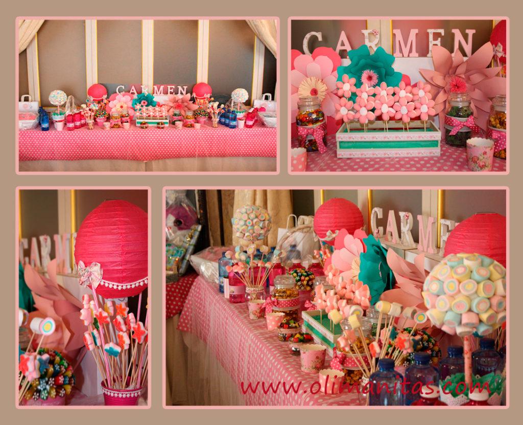 Mesas dulces. Primera Comunión de Carmen