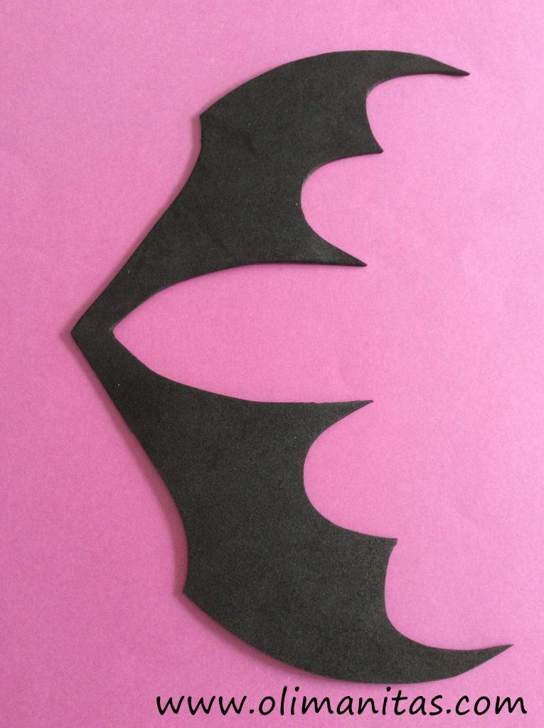 Así nos quedará las alas de murciélago una vez recortadas