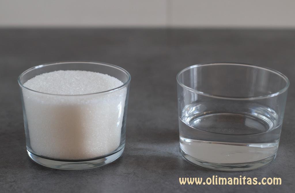 ingredientes necesarios para hacer el caramelo líquido