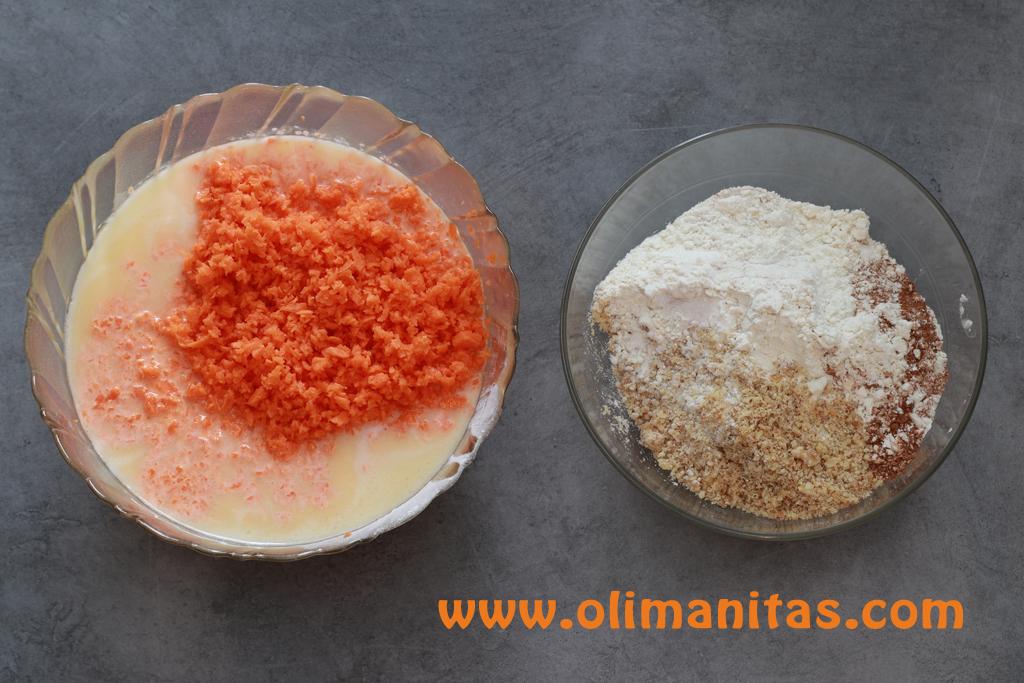 Ahora añadimos los ingredientes que reservamos anteriormente en el paso 1 y las nueces trituradas