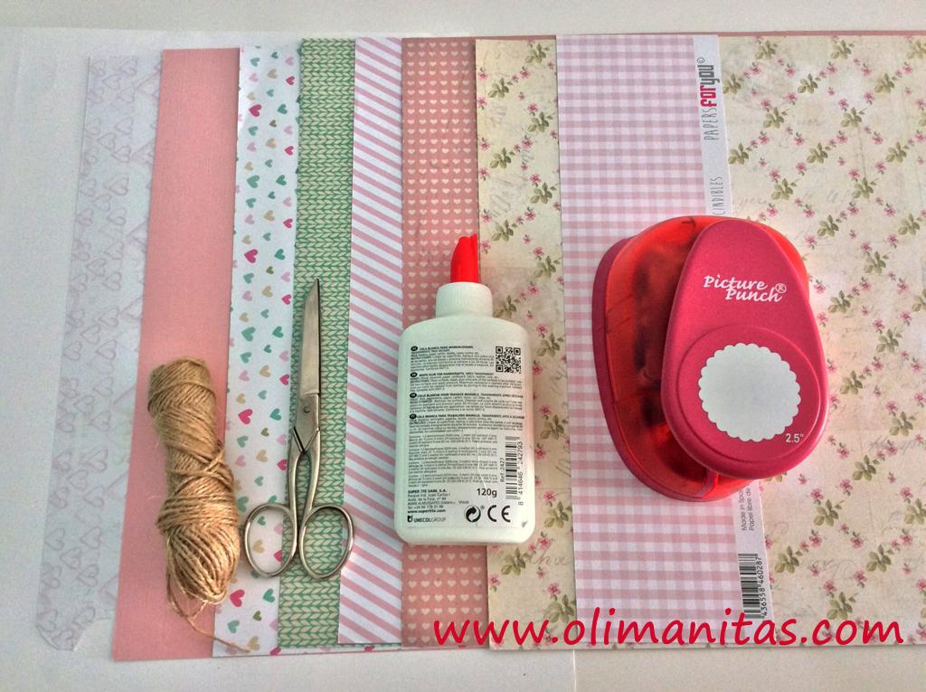 Materiales necesarios para hacer tus tarjetas de San Valentín