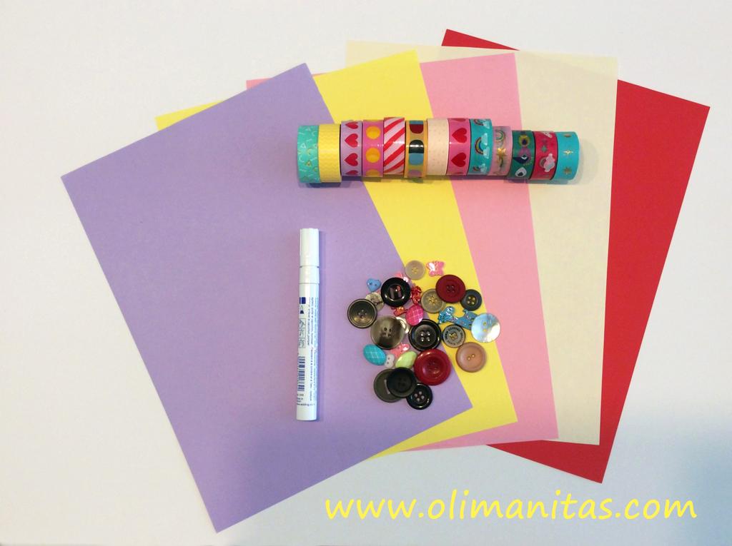 Materiales necesarios para construir el juego de tres en raya casero